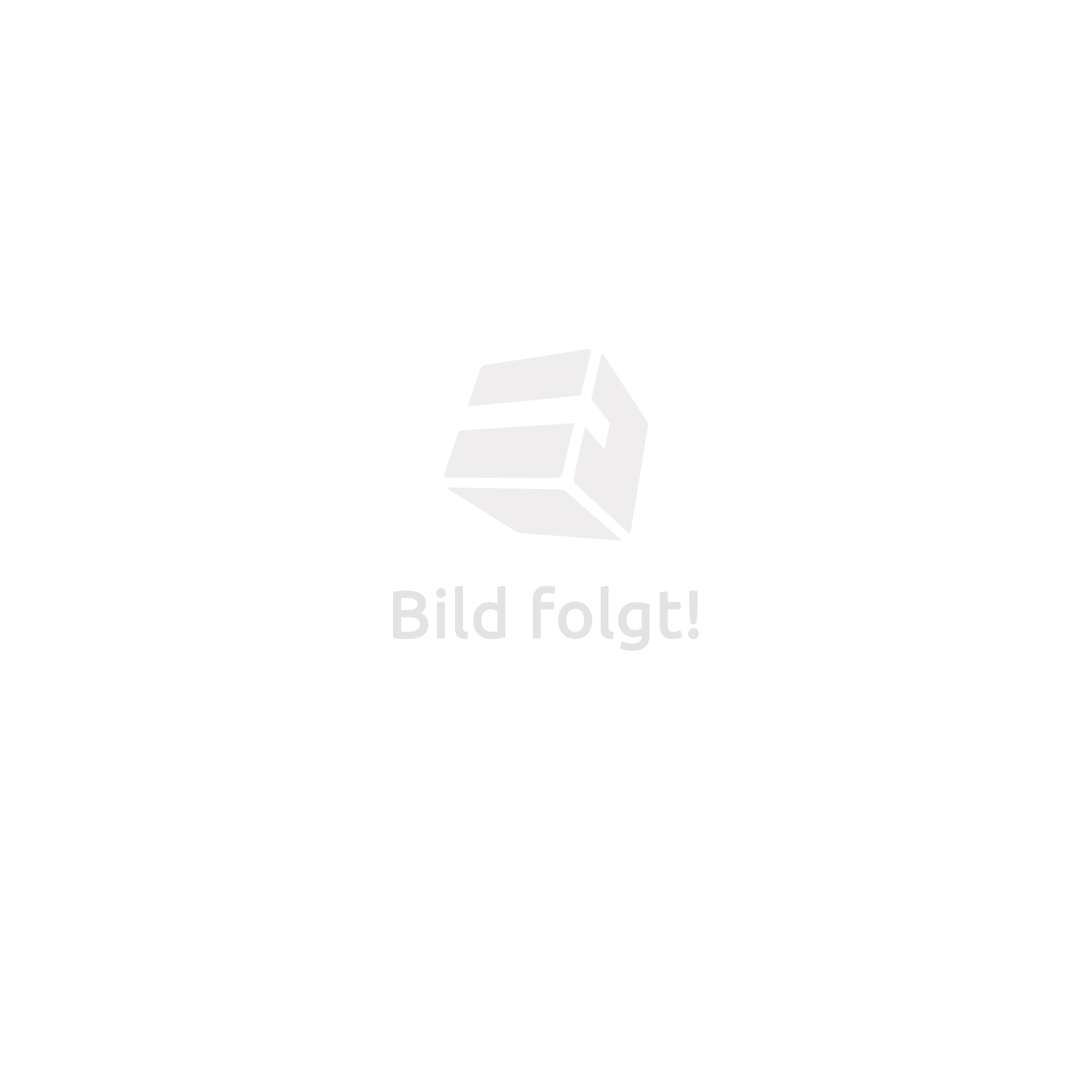 Filing cabinet with 6 drawers and rail grey